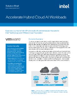 Accelerate Hybrid Cloud AI Workloads
