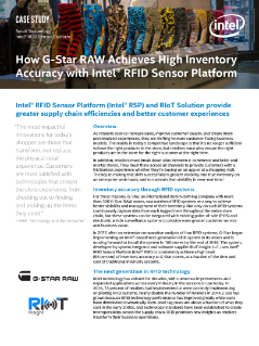 G-Star RAW Achieves High Inventory Accuracy