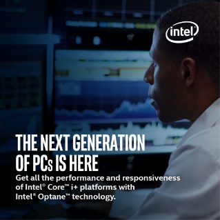Next Generation PCs with Intel® Optane™ Technology and 8th Gen Intel® Core™ Processors