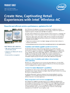 Create Captivating Retail Experiences with Intel® Wireless-AC