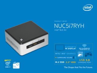 Intel® NUC Kit NUC5i7RYH: Power, Capability, and Performance