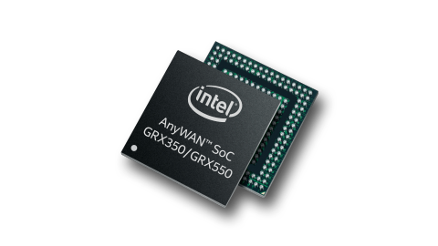 Intel® AnyWAN™ SoC GRX350 and GRX550 Series Product Brief